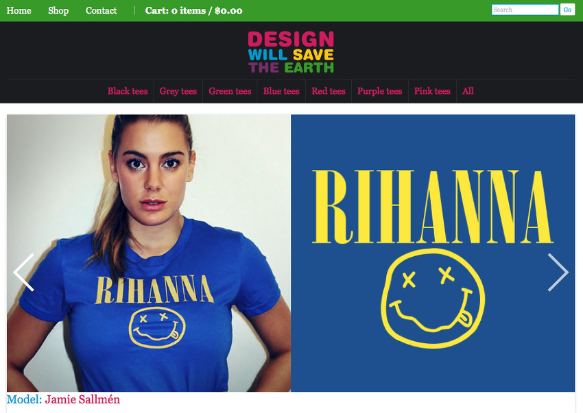 design will save the earth jamie sallmen
