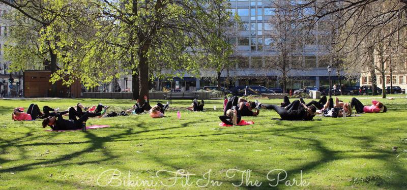 Bikini Fit In The Park