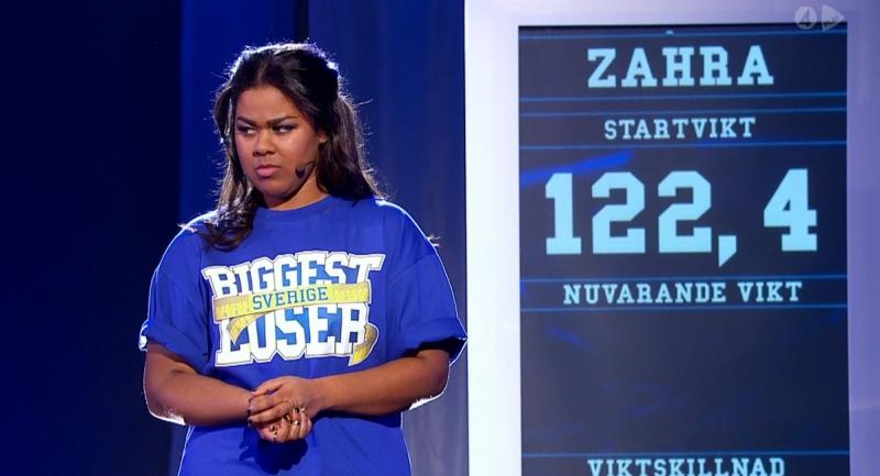 Biggest Loser Zahra