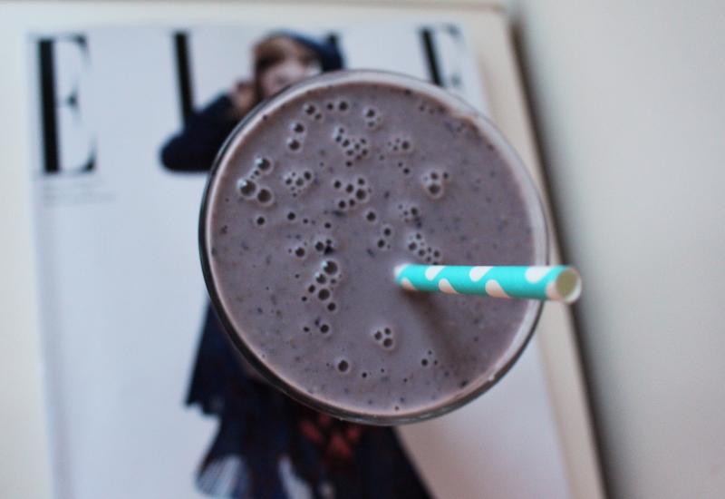 lila smoothie
