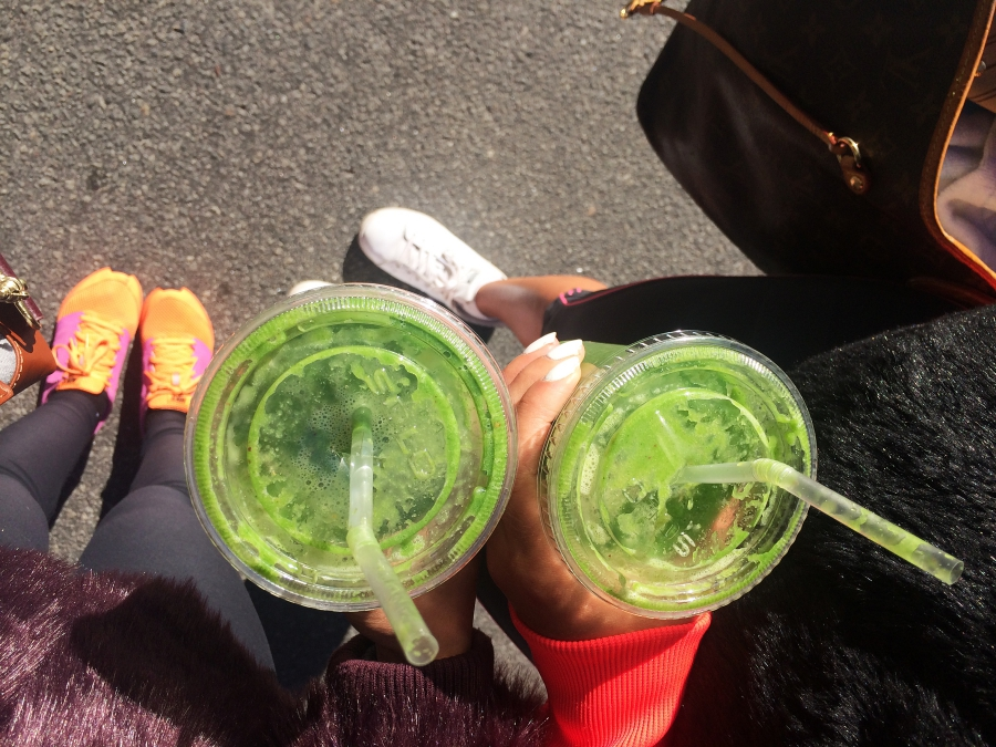 green buddy smoothie