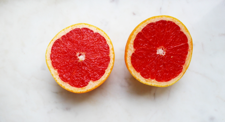Grapefrukt innan morgon cardio