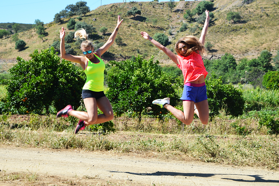 Glädjen att få träna tillsammans