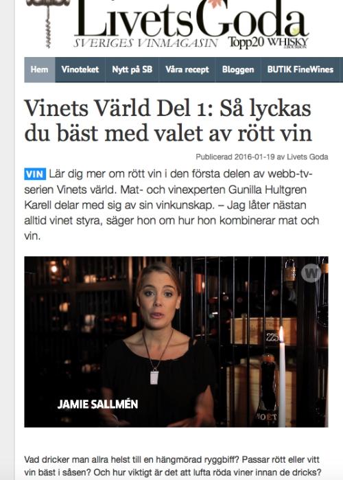 Livets Goda Jamie Sallmén